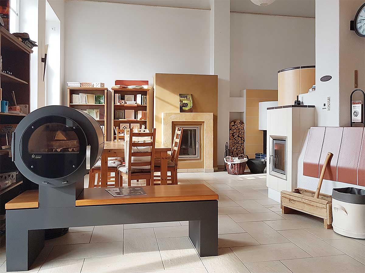 Ausstellung für Musterofen und Wissenswertes rund um den Ofenbau